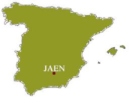 Map Of Spain Jaen.Spanish Olive Oil Soler Romero